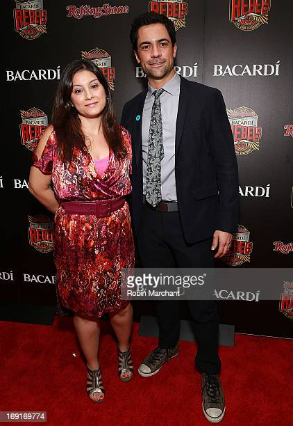 Lily Pino and Danny Pino attend Inaugural Bacardi Rebels Event Hosted By Rolling Stone at Roseland Ballroom on May 20 2013 in New York City