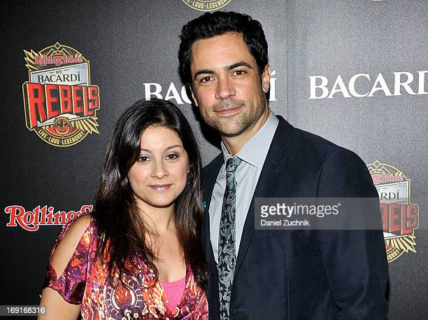 Lily Pino and Danny Pino attend the 2013 Bacardi Rebels Event Hosted By Rolling Stone at Roseland Ballroom on May 20 2013 in New York City