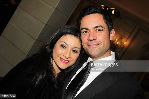 Lily Pino and Danny Pino attends The Drama League's 30th Annual Musical celebration of Broadway honoring Neil Patrick Harris at The Pierre Hotel on...