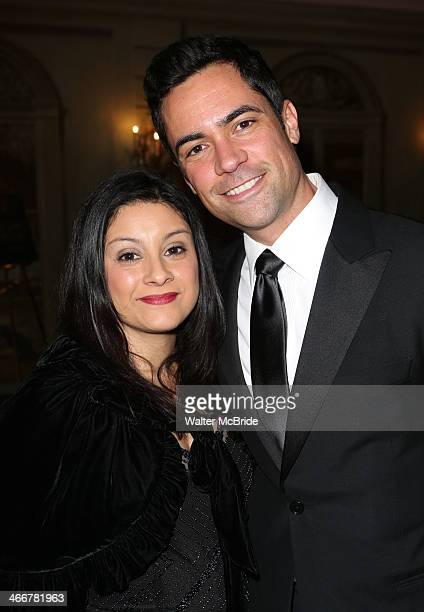 Lily Pino andDanny Pino attends The Drama League's 30th Annual Musical celebration of Broadway honoring Neil Patrick Harrisat The Pierre Hotel on...