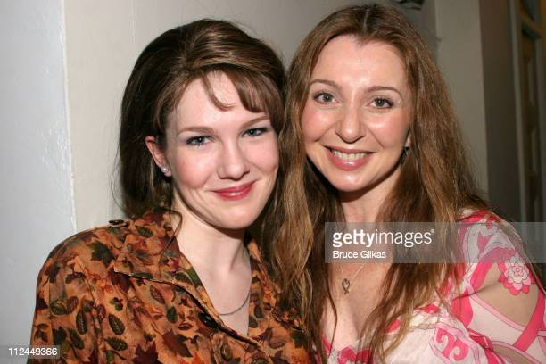 Lily Rabe and Donna Murphy during 'Steel Magnolias' Final Performance on Broadway Benefiting The Actors Fund of America at The Lyceum Theater in New...