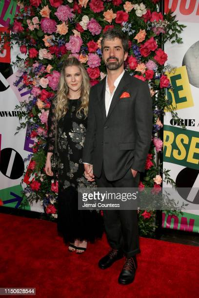 Lily Rabe and Hamish Linklater attend the 64th Annual Obie Awards on May 20 2019 in New York City