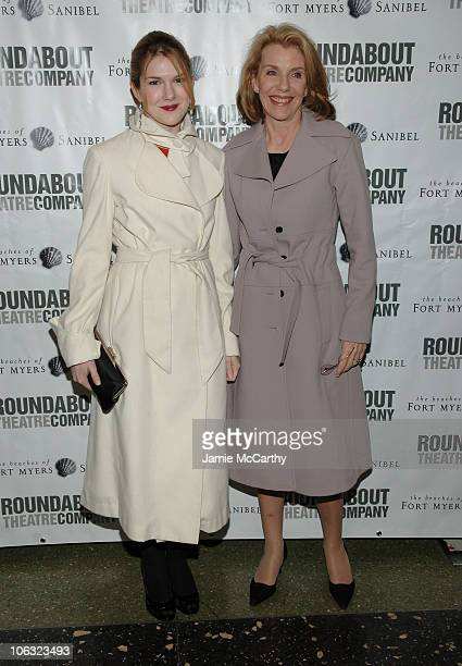 Lily Rabe and Jill Clayburgh during Roundabout Theatre Company's 2007 Spring Gala at Roseland Ballroom in New York City New York United States