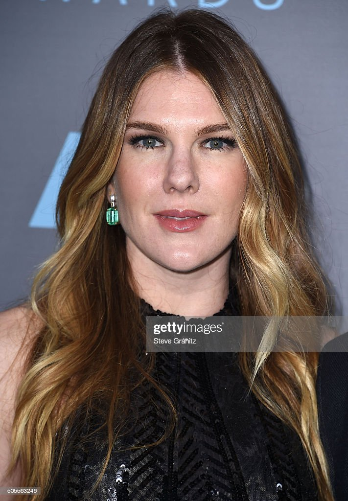 Lily Rabe arrives at the The 21st Annual Critics' Choice
