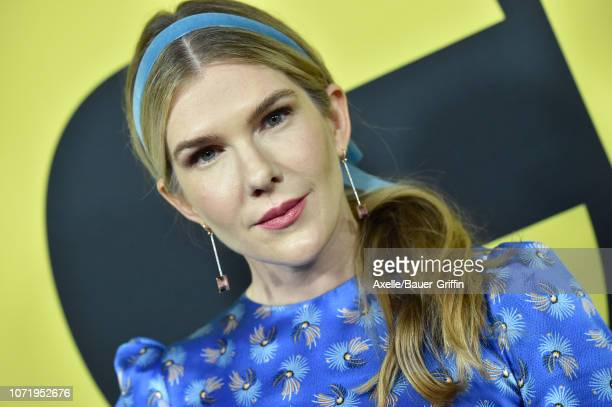 Lily Rabe attends Annapurna Pictures Gary Sanchez Productions and Plan B Entertainment's World Premiere of 'Vice' at AMPAS Samuel Goldwyn Theater on...