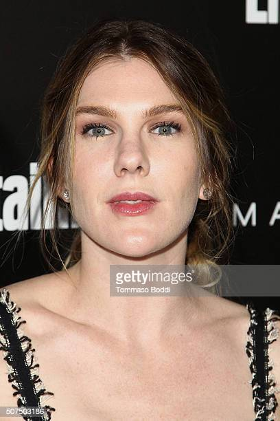Lily Rabe attends the Entertainment Weekly's Celebration Honoring The 2016 SAG Awards Nominees held at Chateau Marmont on January 29 2016 in Los...