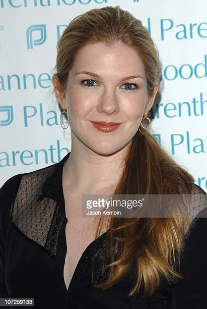 Lily Rabe during OneYear Anniversary Celebration for Planned Parenthood President Cecile Richards June 7 2007 at ADC Gallery in New York City New...