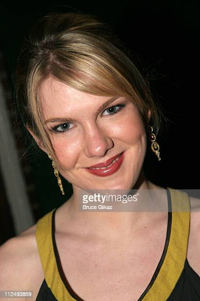 Lily Rabe during Steel Magnolias Opening Night on Broadway After Party Inside at Tavern on the Green in New York City New York United States