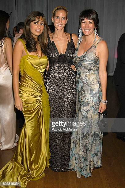 Lily Rafii Adriana GonzalezBunster and Ghislaine Maxwell attend The HENRY STREET SETTLEMENT 2006 Dinner Dance and Auction at The Puck Building on...