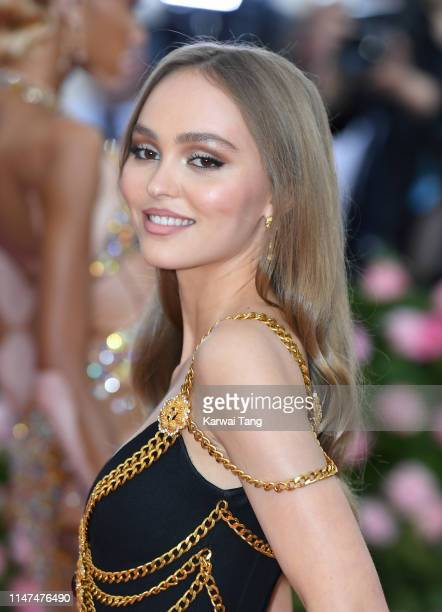 Lily Rose Depp arrives for the 2019 Met Gala celebrating Camp Notes on Fashion at The Metropolitan Museum of Art on May 06 2019 in New York City