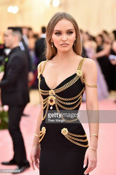 Lily Rose Depp attends The 2019 Met Gala Celebrating Camp Notes on Fashion at Metropolitan Museum of Art on May 06 2019 in New York City