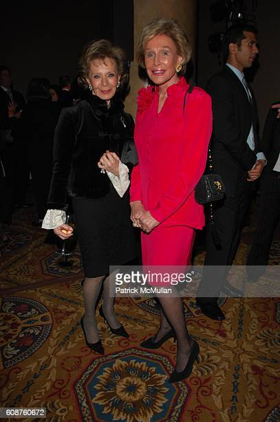 Lily Safra and Suzanne McDonough attend UNAUSA 2007 GLOBAL LEADERSHIP AWARD Dinner at Cipriani Wall Street NYC on October 25 2007