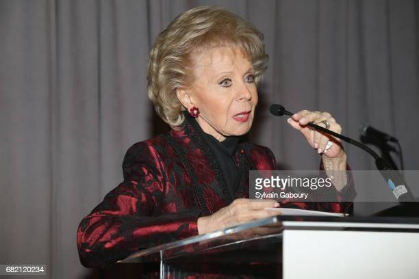 Lily Safra attends Mrs Lily Safra Honored at ISEF Foundation's 40th Anniversary at Intercontinental New York Barclay on May 11 2017 in New York City
