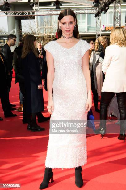Lily Sullivan attends the 'Picnic at Hanging Rock' premiere during the 68th Berlinale International Film Festival Berlin at Zoo Palast on February 19...