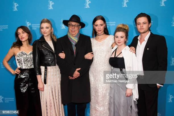 Lily Sullivan Natalie Dormer Dieter Kosslick Lola Bessis Emily Gruhl and Harrison Gilbertson attend the 'Picnic at Hanging Rock' premiere during the...