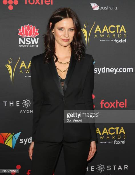 Lily Sullivan poses during the 7th AACTA Awards at The Star on December 6 2017 in Sydney Australia