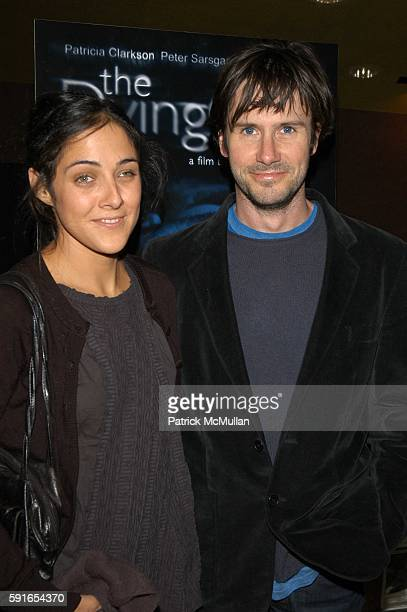 Lily Thorne and Josh Hamilton attend Dying Gaul Arrivals and After Party at Clearview Chelsea West on November 1 2005 in New York City