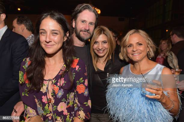 """Lily Thorne Josh Hamilton Callie Thorne and Amy Sedaris attend the premiere screening and party for truTV's new comedy series """"At Home with Amy..."""