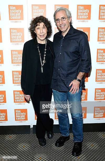 Lily Tomlin and Director Paul Weitz attend The Film Society of Lincoln Center 2015 Summer Talks Series 'Grandma' at Elinor Bunin Munroe Film Center...