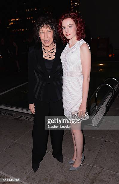 Lily Tomlin and Julia Garner attend the after party for a screening of Sony Pictures Classics' 'Grandma' hosted by The Cinema Society Kate Spade and...