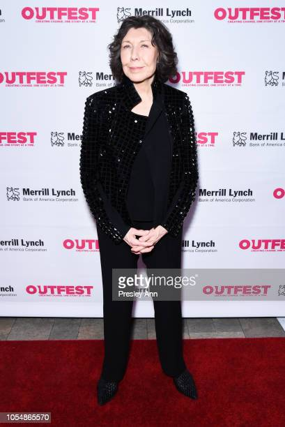 Lily Tomlin attends 13th Annual Outfest Legacy Awards at Vibiana on October 28 2018 in Los Angeles California