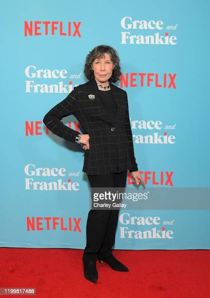 "Lily Tomlin attends a special screening of ""Grace and Frankie Season 6"", presented by Netflix, on January 15, 2020 in Los Angeles, California."
