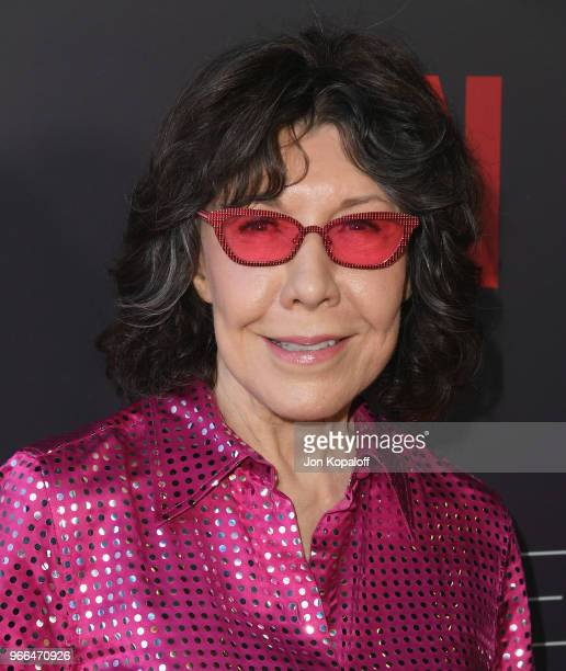 Lily Tomlin attends #NETFLIXFYSEE Event For Grace And Frankie at Netflix FYSEE At Raleigh Studios on June 2 2018 in Los Angeles California
