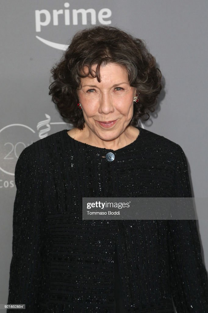 Lily Tomlin attends the 20th CDGA (Costume Designers Guild Awards) on February 20, 2018 in Beverly Hills, California.