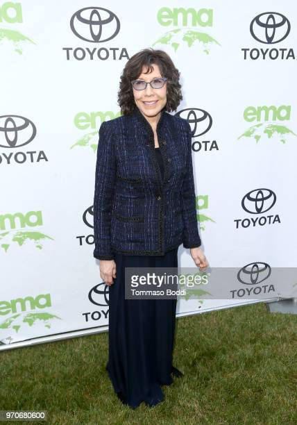 Lily Tomlin attends the Environmental Media Association 1st Annual Honors Benefit Gala on June 9, 2018 in Los Angeles, California.