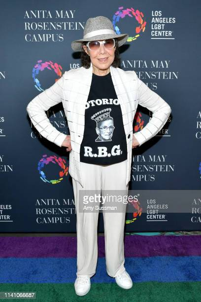 Lily Tomlin attends the grand opening of the Los Angeles LGBT Center's Anita May Rosenstein Campus on April 07 2019 in Los Angeles California