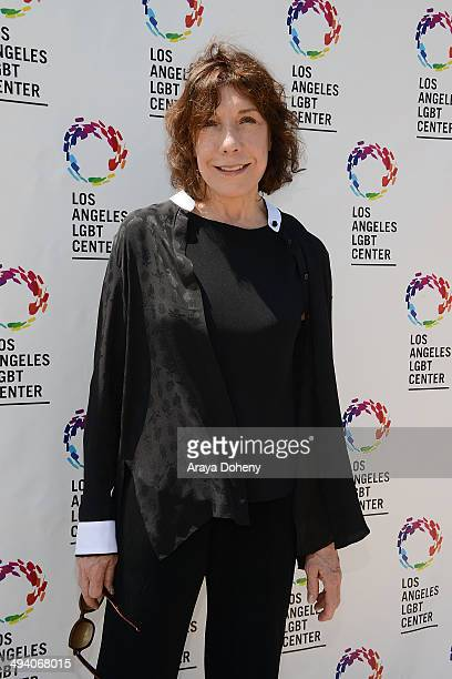 Lily Tomlin Attends The La Gay Lesbian Center And Lily Tomlin Announce A 25 Million Campaign