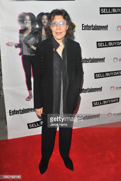 Lily Tomlin attends the Opening Night Of 'Sell/Buy/Date' at Los Angeles LGBT Center on October 14 2018 in Los Angeles California