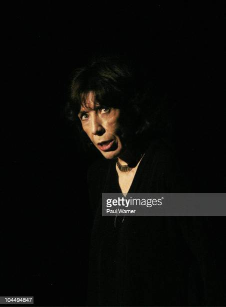 Lily Tomlin speaks at O'Laughlin Hall at St. Mary's College during the Margaret Hill Lecture series on September 27, 2010 in Notre Dame, United...