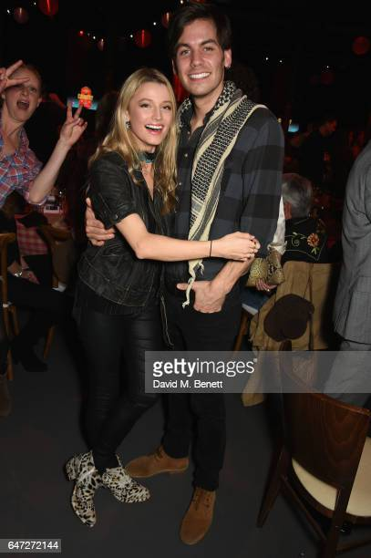 Lily Travers and Alex Mills attend Save The Children's A Night of Country at The Roundhouse on March 2 2017 in London England