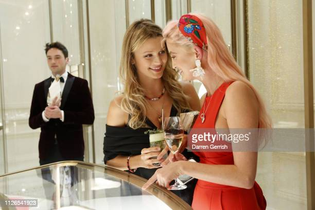 Lily Travers attends as Cartier celebrates the reopening of the New Bond Street boutique on January 31 2019 in London England