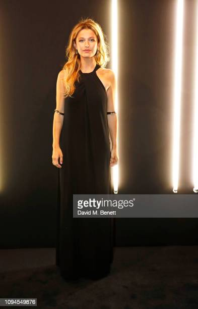 Lily Travers attends the dunhill PreBAFTA dinner at dunhill Bourdon House on February 6 2019 in London England