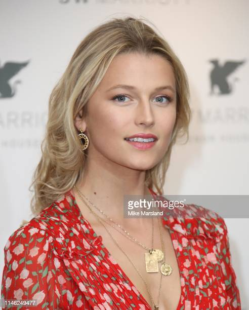 Lily Travers attends the JW Marriott Grosvenor House London 90th Anniversary at Grosvenor House on April 30 2019 in London England