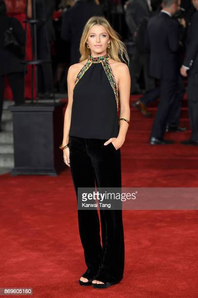 Lily Travers attends the 'Murder On The Orient Express' World Premiere at Royal Albert Hall on November 2 2017 in London England
