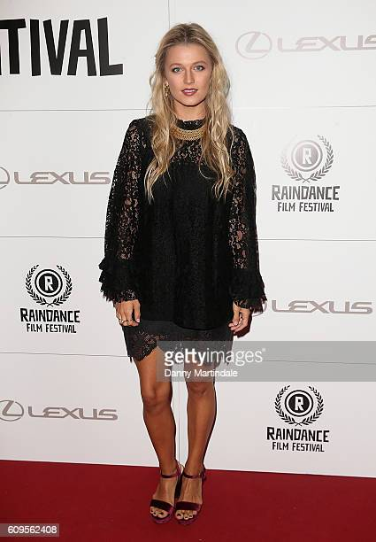 Lily Travers attends the opening night gala for Raindance Film Festival at Picturehouse Central on September 21 2016 in London England