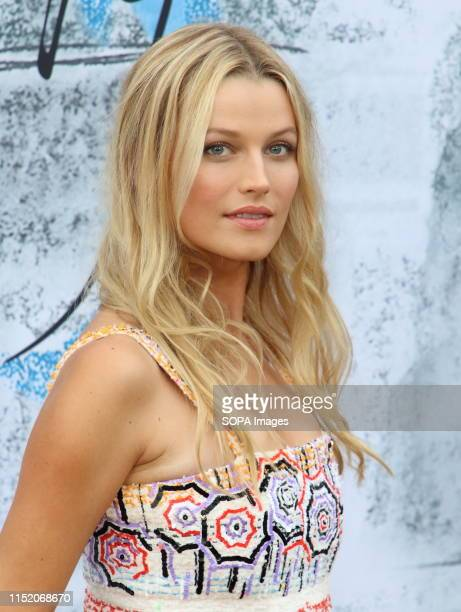 Lily Travers attends the Serpentine Gallery Summer Party at Hyde Park in London