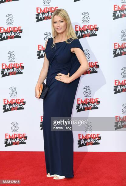 Lily Travers attends the THREE Empire awards at The Roundhouse on March 19 2017 in London England