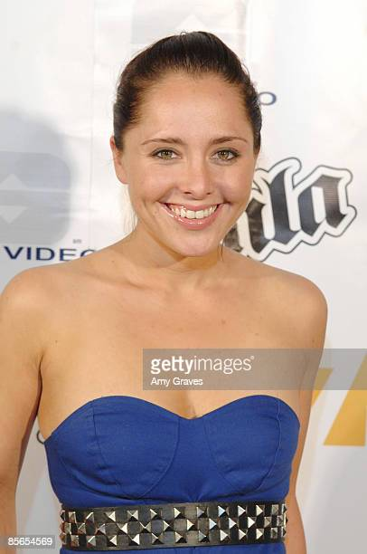 Lily Vonnegut at the Harris Grade Music Video Release Party at Cinespace on March 26 2009 in Hollywood California