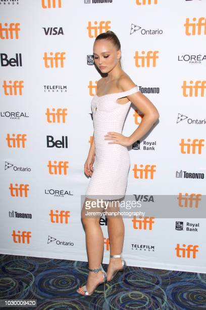 LilyRose Depp attends 'A Faithful Man' Premiere during 2018 Toronto International Film Festival at Scotiabank Theatre on September 9 2018 in Toronto...