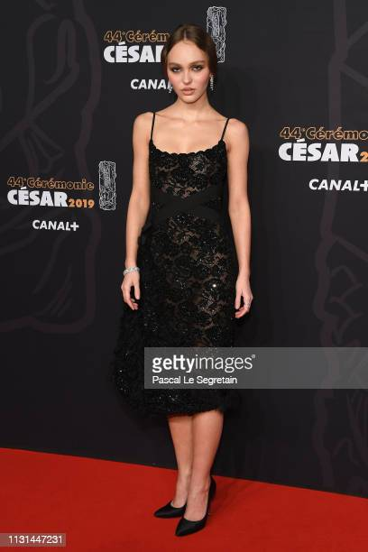 LilyRose Depp attends Cesar Film Awards 2019 at Salle Pleyel on February 22 2019 in Paris France