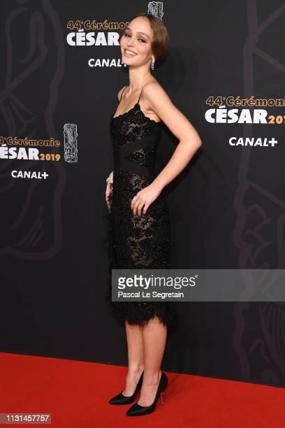 LilyRose Depp attends Cesar Film Awards 2019 at Salle Pleyel on February 22 2019 in Paris France