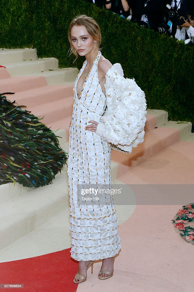 Lily-Rose Depp attends
