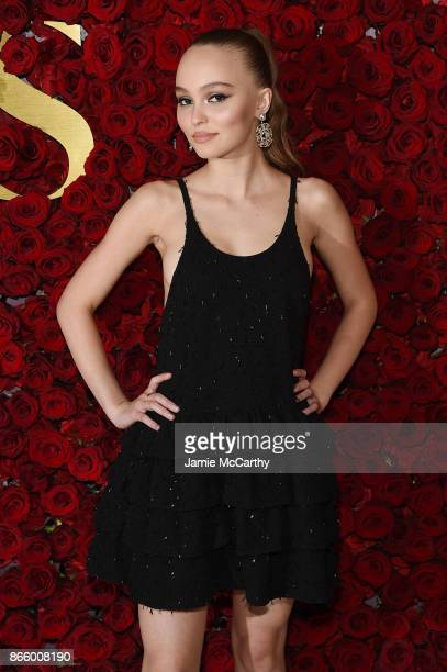 LilyRose Depp attends the 2017 WWD Honors at The Pierre Hotel on October 24 2017 in New York City
