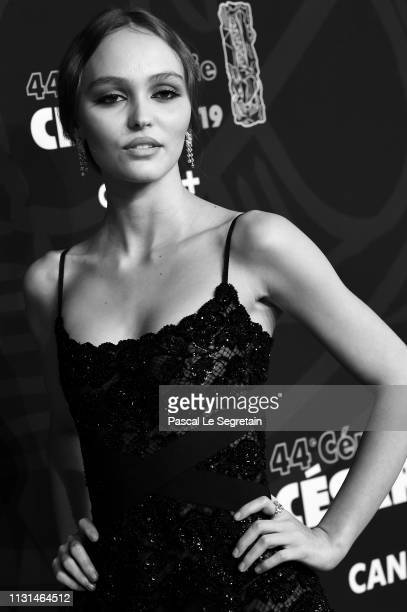 LilyRose depp attends the Cesar film award ceremony 2019 at Salle Pleyel on February 22 2019 in Paris France