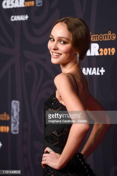 LilyRose Depp attends the Cesar Film Awards 2019 the Cesar Film Awards 2019 at Salle Pleyel on February 22 2019 in Paris France