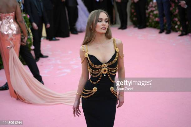 LilyRose Depp attends The Metropolitan Museum Of Art's 2019 Costume Institute Benefit Camp Notes On Fashion at Metropolitan Museum of Art on May 6...